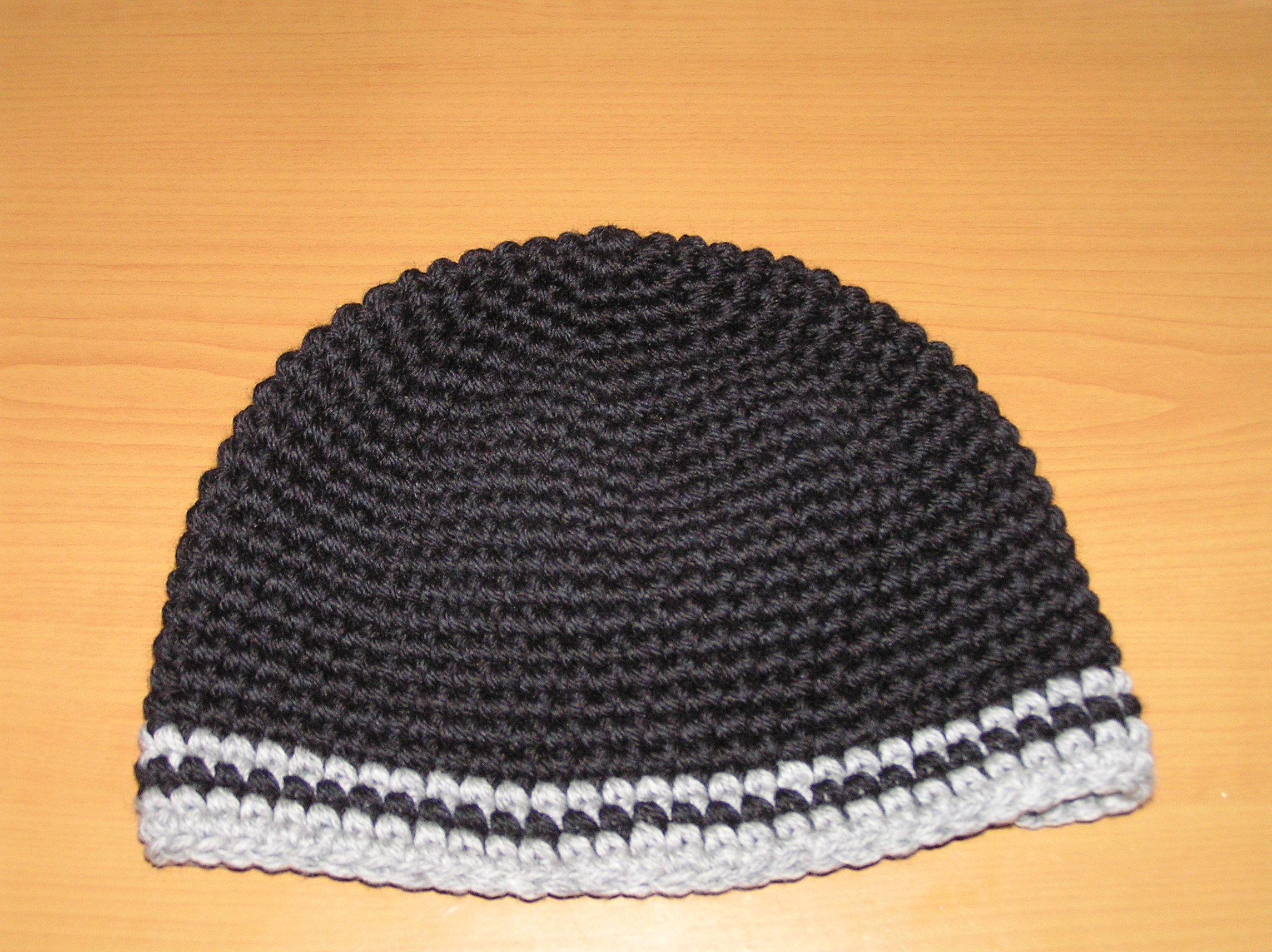 Crochet Pattern Hat Beanie : Free Crochet Pattern for Mens Hat - Anastasia Popova
